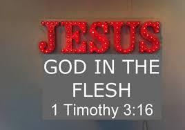 Jesus God in Flesh